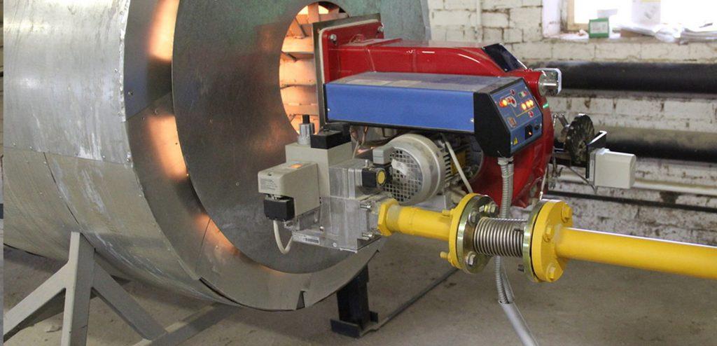 نصب و راه اندازی خط گاز کارخانه آسفالت